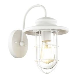 Уличный настенный светильник Helm Белый Odeon Light