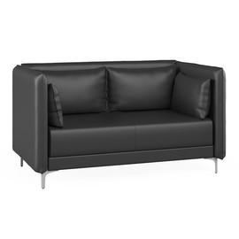 Двухместный диван Графит (ШхГхВ - 158x91x84 см.)