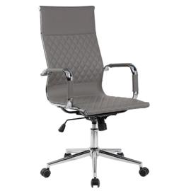 Кресло для руководителя в офис Riva Chair 6016-1 S серый