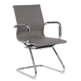 Офисное кресло для посетителей и переговорных Riva Chair 6016-3 серый