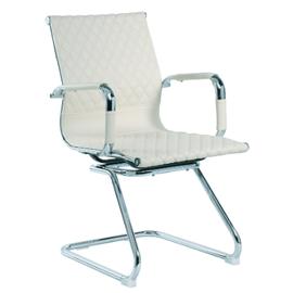 Офисное кресло для посетителей и переговорных Riva Chair 6016-3 бежевый