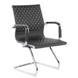 Офисное кресло для посетителей и переговорных Riva Chair 6016-3 черное