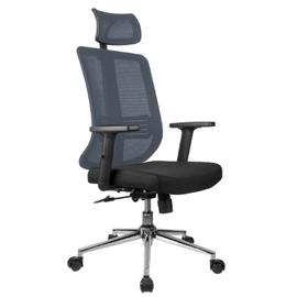 Офисное кресло Riva Chair А 663 серая сетка
