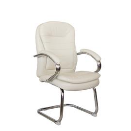 Офисное кресло для посетителей и переговорных Riva Chair 9024-4 Бежевый