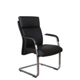 Офисное кресло для посетителей и переговорных Riva Chair C 1511 Чёрный
