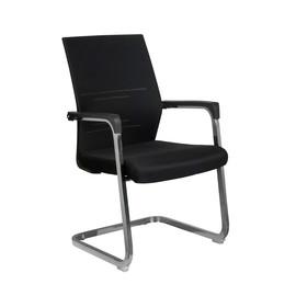 Офисное кресло для посетителей и переговорных Riva Chair D 818 черное