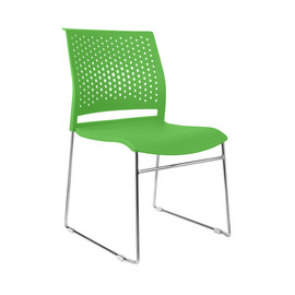 Офисное кресло для посетителей и переговорных Riva Chair D 918 Зелёный
