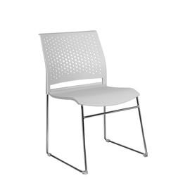 Офисное кресло для посетителей и переговорных Riva Chair D 918 Серый