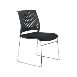 Офисное кресло для посетителей и переговорных Riva Chair D 918 B Черное