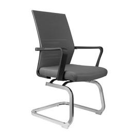 Офисное кресло для посетителей и переговорных Riva Chair G 818 серое