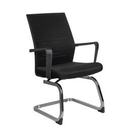 Офисное кресло для посетителей и переговорных Riva Chair G 818 черное