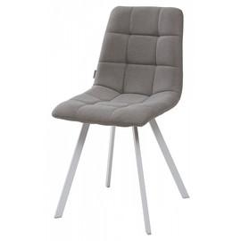 Комплект Стульев Chilli Square UF860-08B серый, ткань / белый каркас M-City (4 шт)