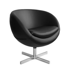 Дизайнерское кресло из экокожи A686 (реплика PLANET6) черное Beonmebel