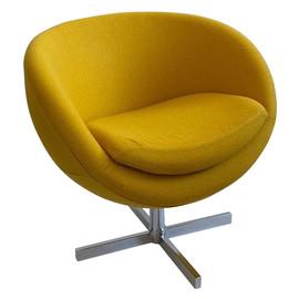 Дизайнерское кресло A686 (реплика PLANET6) желтое Beonmebel