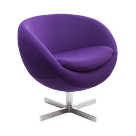 Дизайнерское кресло A686 (реплика PLANET6) фиолетовое Beonmebel