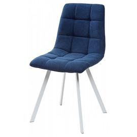 Комплект Стульев Chilli Square UF860-14B полночный синий, ткань/ белый каркас M-City (4 шт)