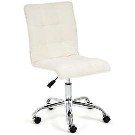Кресло офисное «Zero» флок , молочный, 4 TetChair