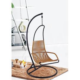 Подвесное кресло F12 цвет ротанга темный мёд EcoDesign