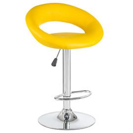 Барный стул MIRA 5001 желтый LogoMebel