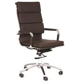 Компьютерное кресло для руководителя Chairman 750 Коричневое