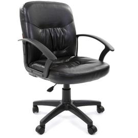 Компьютерное кресло Chairman ch 651 ЭКО черное матовое