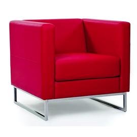 Кресло Chairman Дюна (ШхГхВ 715х730х700 ) красный