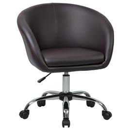 Офисное кресло 9500 коричневое  LogoMebel