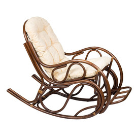 Кресло-качалка 05-17 Matt Б (подушка Ткань шенилл) EcoDesign