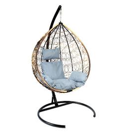 Подвесное кресло Z-03 (A3) цвет светло-коричневый, подушка – серый EcoDesign