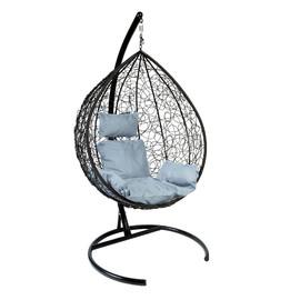 Подвесное кресло Z-03 (A9) цвет черный, подушка – серый EcoDesign