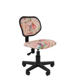 Кресло для детской комнаты Chairman  KIDS 106 чёрный пластик (Принцессы)