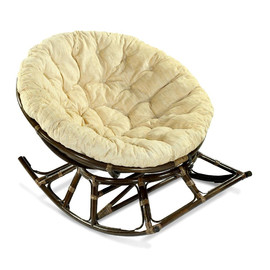 Кресло-качалка PAPASAN 23-03 Б (подушка рогожка) EcoDesign