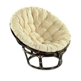 Кресло PAPASAN 23-01 Б (из ротанга, подушка рогожка) EcoDesign