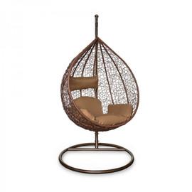 Подвесное кресло KVIMOL KM 0001 средняя коричневая корзина