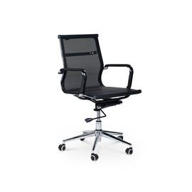 Кресло для руководителя в офис NORDEN  Хельмут LB чёрная сетка