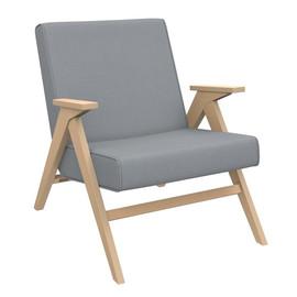 Кресло  Вест (Натуральное дерево, ткань Fancy 85, кант Fancy 85)