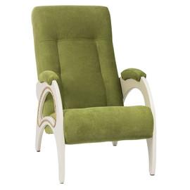Кресло для отдыха, мод. 41 (Apple Green /Дуб шампань) с лозой Red Black