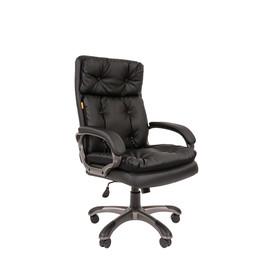 Кресло для руководителя  CHAIRMAN 442 Чёрный