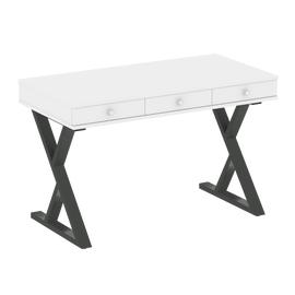 Стол письменный для ноутбука VR.SP-1-118M Riva Белый Бриллиант