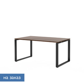 EXE Стол письменный 160 черн ОРЕХ МАРОНЕ/ЧЕРН (101 101 MAR 09)