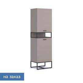 CALIPSO Шкаф с открытой полкой БАЗАЛЬТ (138H003 E8/E8 (9005))