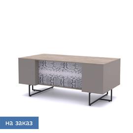 CALIPSO Стол письменный L180 ОРЕХ БАРСЕЛОН/ПИТОН (138S001 Питон (9005))