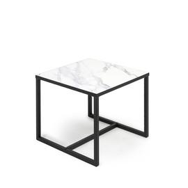 CALIPSO Стол кофейный большой МРАМОР (138S004 Мрамор (9005))
