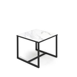 CALIPSO Стол кофейный малый МРАМОР (138S006 Мрамор (9005))