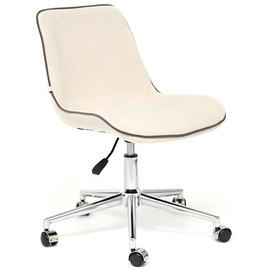 Кресло STYLE флок , молочный, 4 TetChair