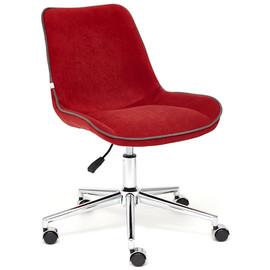 Кресло STYLE флок , бордовый, 10 TetChair