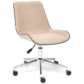 Кресло STYLE флок , бежевый, 7 TetChair