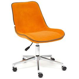 Кресло STYLE флок , оранжевый, 18 TetChair
