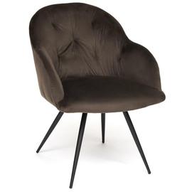 Кресло «Livorno» серый вельвет ( mod.1602 ) TetChair