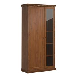 ISEO Шкаф для бумаг с ассиметричными дверьми L104 ВИШНЯ АНТИЧНАЯ (136H004 SX/DX)